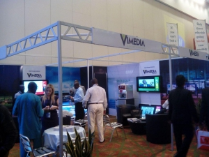 ViMedia at the exhibition Photo credit: Africa Sign Expo