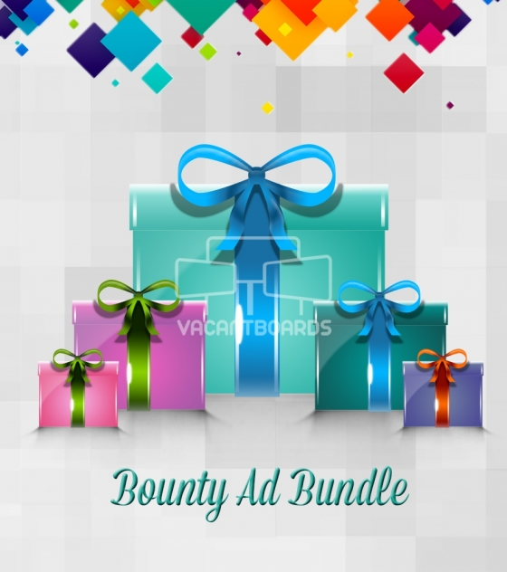 VacantBoards Bounty Outdoor Advertising Bundle