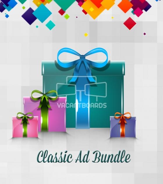 VacantBoards Classic Outdoor Advertising Bundle