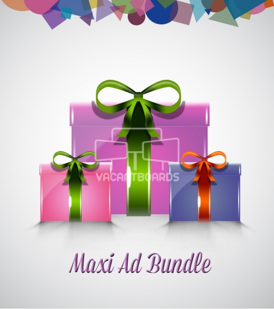VacantBoards Maxi Outdoor Advertising Bundle