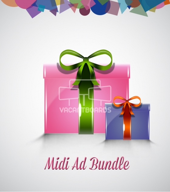 VacantBoards Midi Outdoor Advertising Bundle