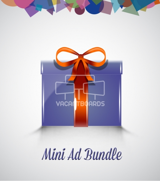 VacantBoards Mini Outdoor Advertising Bundle