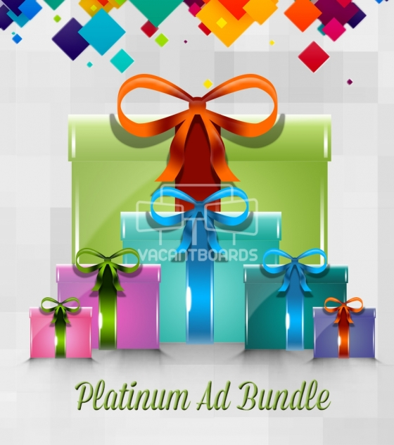 VacantBoards Platinum Outdoor Advertising Bundle