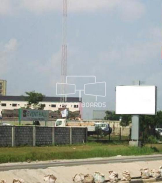 Backlit Billboard, Lekki