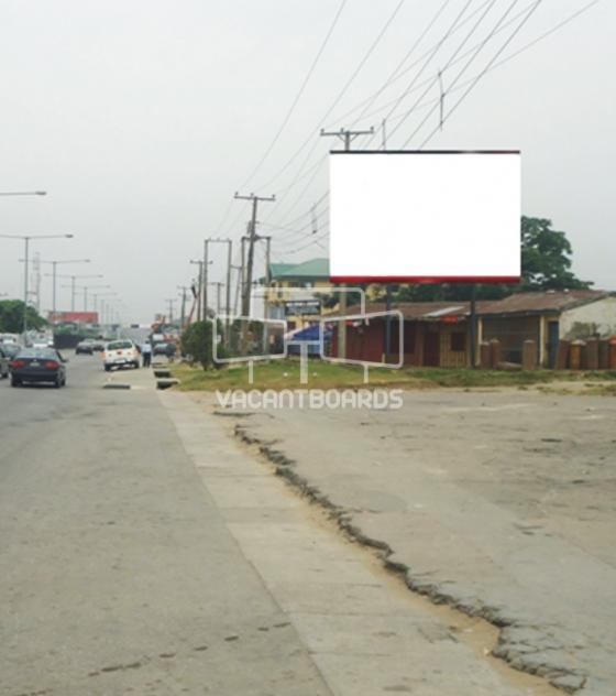 Super 48 Sheet Billboard, Mariam Road MCC Roundabout
