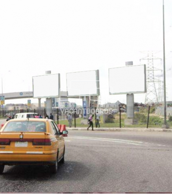 3 face billboard, Lekki