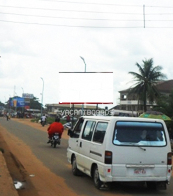 48 Sheet Billboard, Asaba