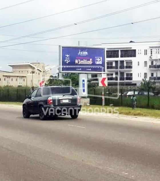 Backlit Billboard 1st Roundabout, Lekki Epe Expressway