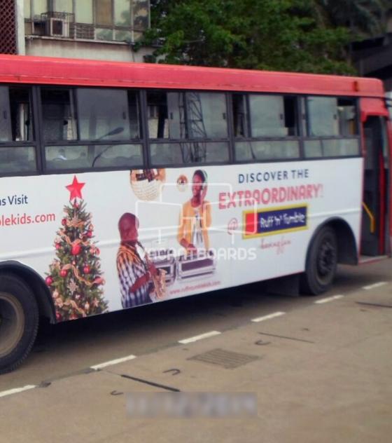 BRT LagBUS Transit Advertising