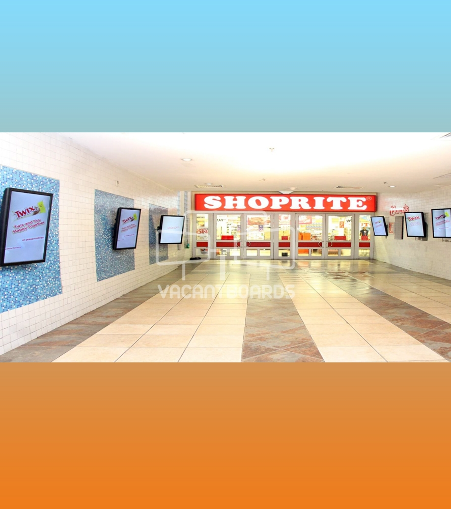 Digital Screens – A.O.S. Mall Surulere, Lagos
