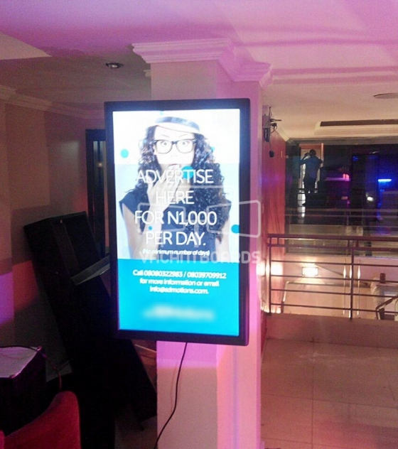 Digital Screen SS Lounge, Idowu Taylor