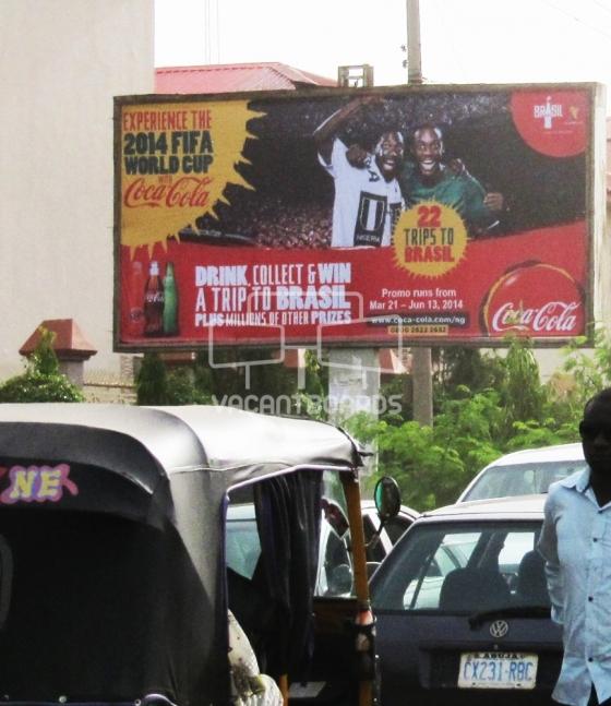 Backlit Billboard, Life Camp, Kado Fish Market, Abuja