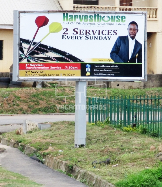 Backlit Billboard, Gwarimpa, Abuja