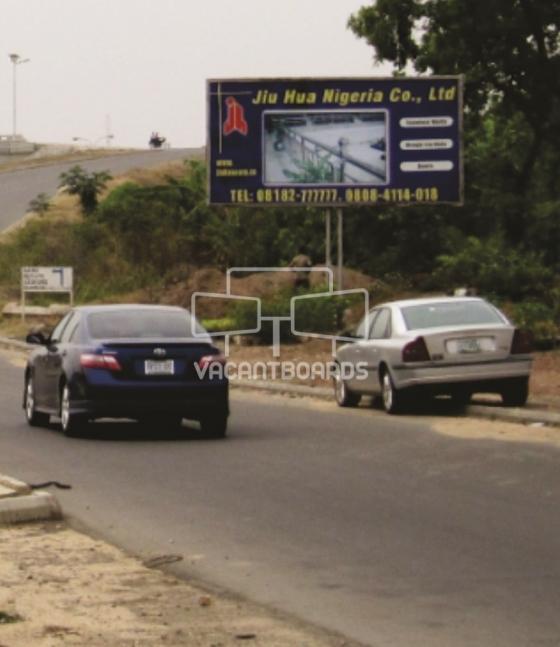 Backlit Billboard, Nyanya road, Mugadishu Barracks, Abuja