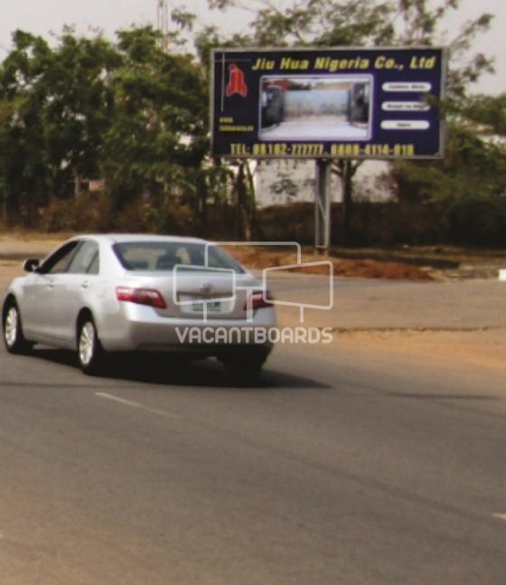 Backlit Billboard, River Benue street, Maitama, Abuja.