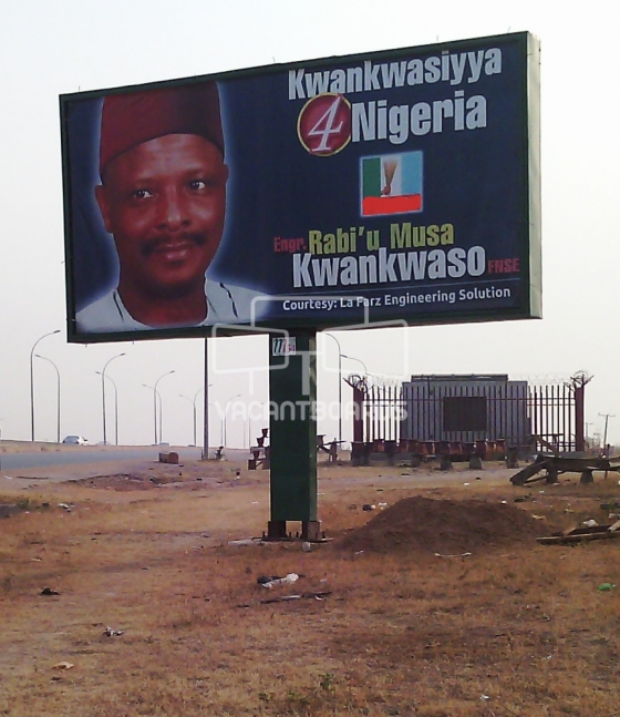Backlit Billboard, Dei-Dei Expressway, Kubwa, Abuja.