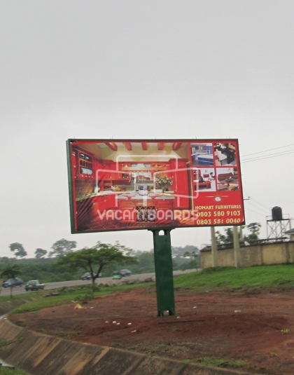 Backlit Billboard, Gwarimpa, Life Camp Roundabout, Abuja