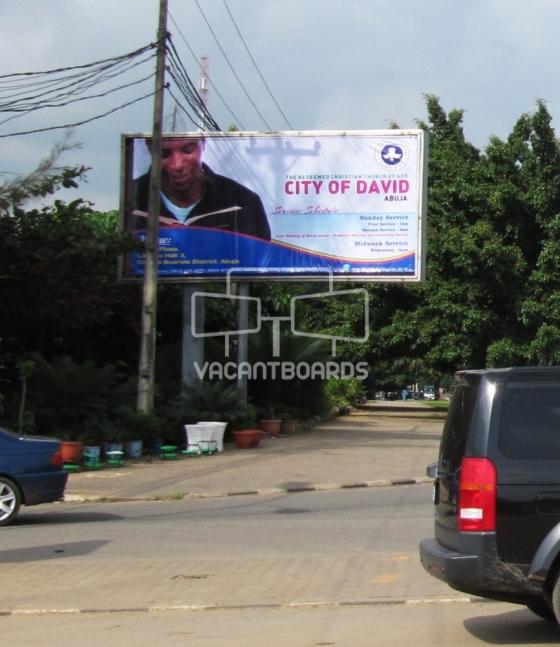 Backlit Billboard, Garki, Abuja