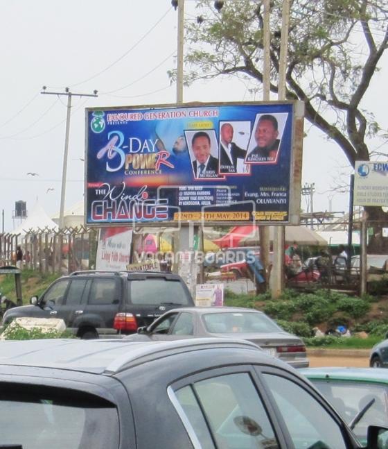 Backlit Billboard, Galadimawa, Suncity Roundabout Abuja