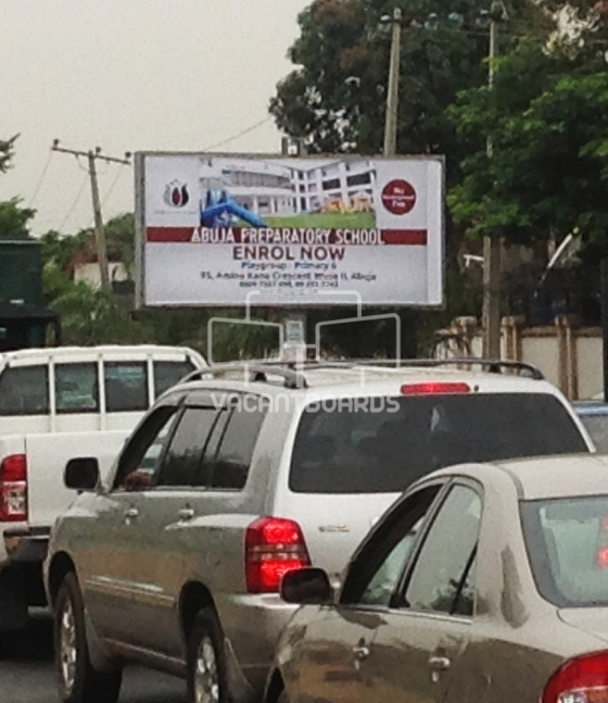 Backlit Billboard, Asokoro, Abuja
