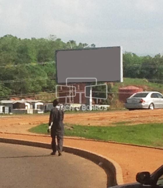 Backlit Billboard, Apo, Abuja