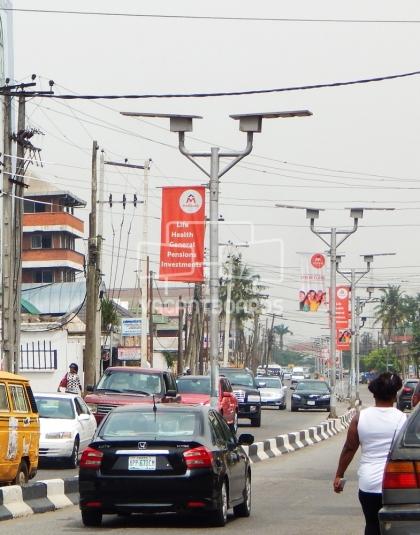 Lamp Posts, Allen Avenue, Lagos