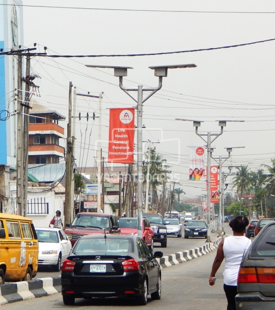 Lamp Posts, Allen Avenue, Lagos