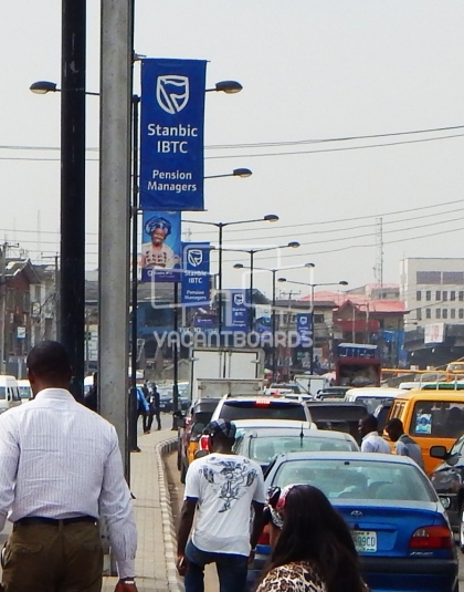 Lamp post, Kodesho, Lagos