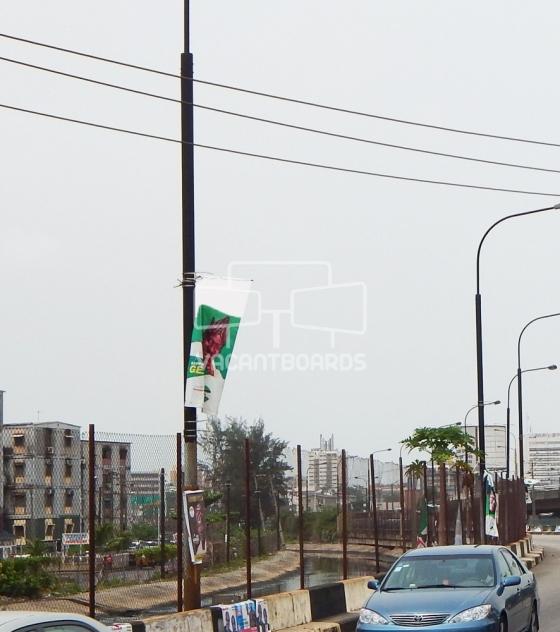 Lamp post, Osbourne (Obalende Inter-link Osbourne, Lagos)