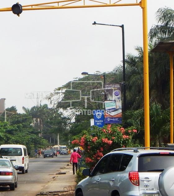 Lamp post, Oba Akinjobi, Ikeja Lagos