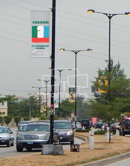 Lamp post, Admiralty, Lekki Phase 1 gate, Lagos