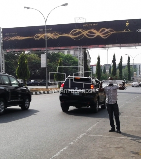 Gantry, Shehu Shagari Way, Abuja