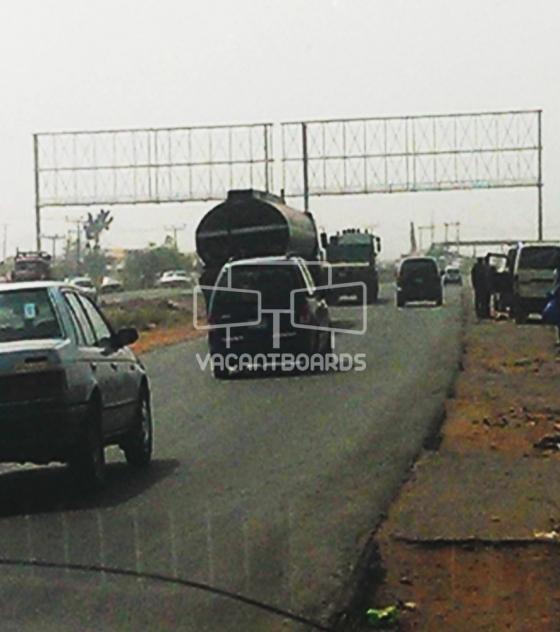 Gantry, Alajagbe bus stop ojoo/iwo road, Ibadan