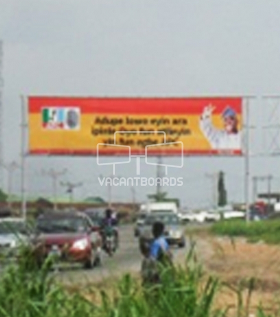 Gantry – Ojoo-Iwo Road, Ogun