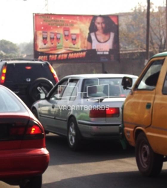 Super 48 sheet billboard, Ahmadu Bello Way, Kaduna