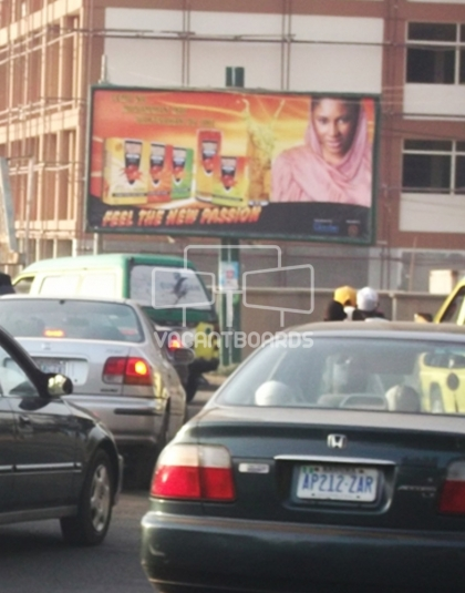 Super 48 sheet billboard, Ahmadu Bello Way, Kaduna