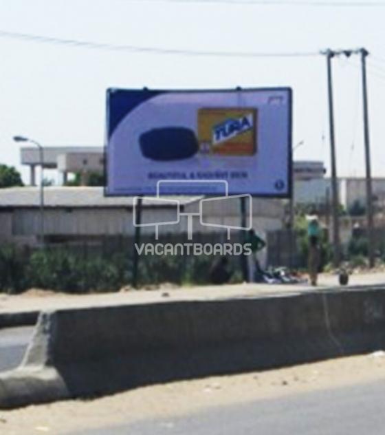 Super 48 sheet billboard, Hadiya Road, Kano