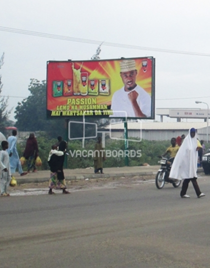 Super 48 sheet billboard, Hadejia, Kano