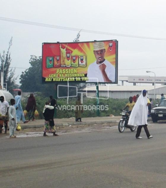 Super 48 sheet billboard, Hadejia, Kano