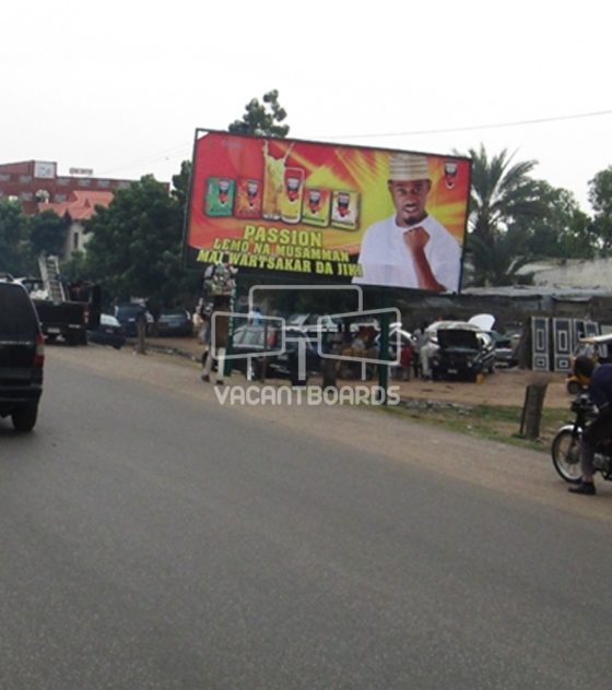 Super 48 Sheet Billboard, Maiduguri Road, Kano