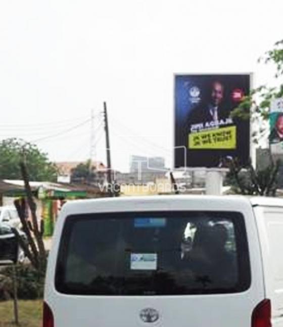 Portrait Unipole – NNPC Mega Station, V I,  Lagos