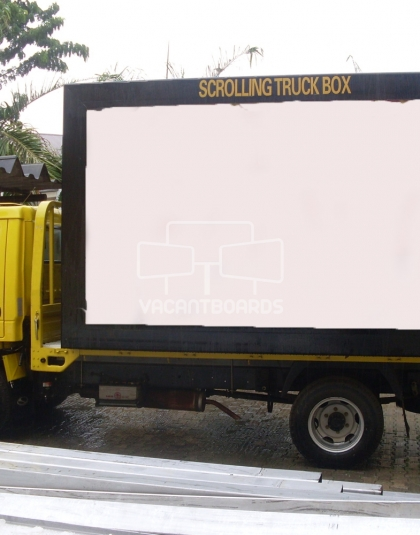 Mobile Scrolling Truck - Lagos