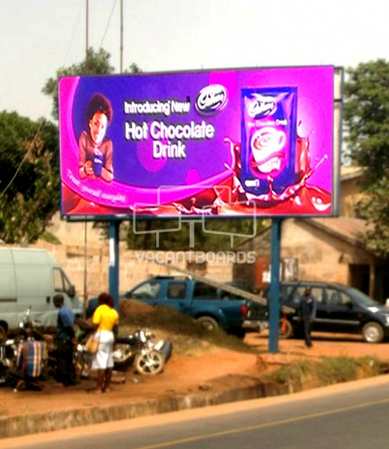Super 48 sheet billboard, Ogidi-Awka Expressway, Anambra