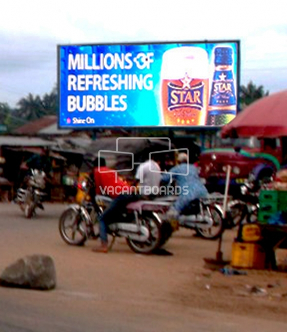 Super 48 Sheet Billboard, Oba Owerri Road, Anambra