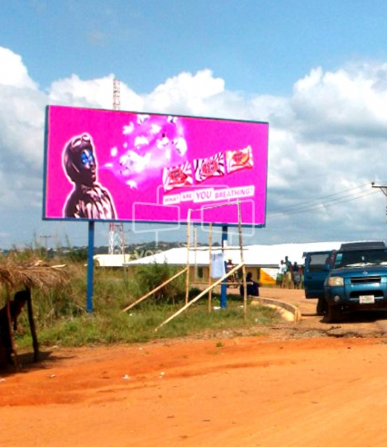 Super 48 sheet billboard, Anam-Umuleri Road