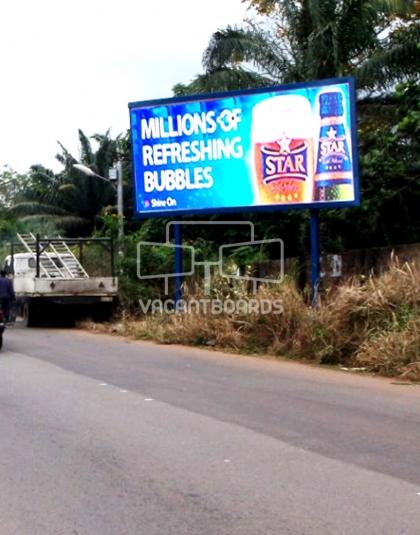 Super 48 Sheet billboard, Agulu-Ekwulobia Expressway