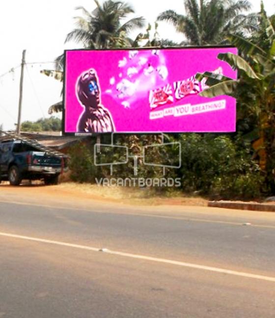 48 sheet billboard Abagana-Awka Expressway, Anambra