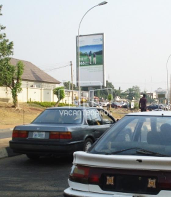 Portrait Unipole, Ladi Kwali Way, Abuja