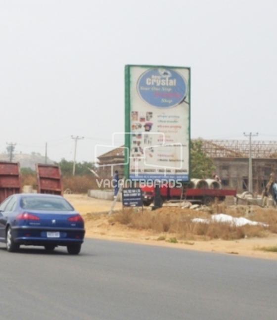 Portrait Unipole, Jabi-Airport Bypass, Abuja