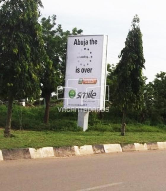 Portrait Unipole, Bill Clinton Drive, Abuja
